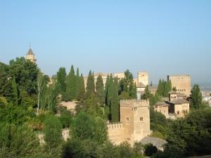 Vista dall'Alhambra di Granada