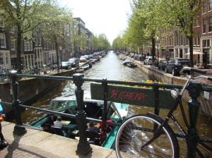 Vista dei canali. Amsterdam