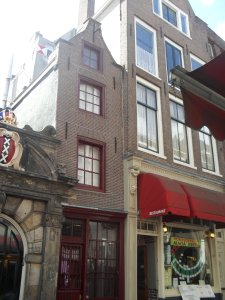 the narrow house, Amsterdam