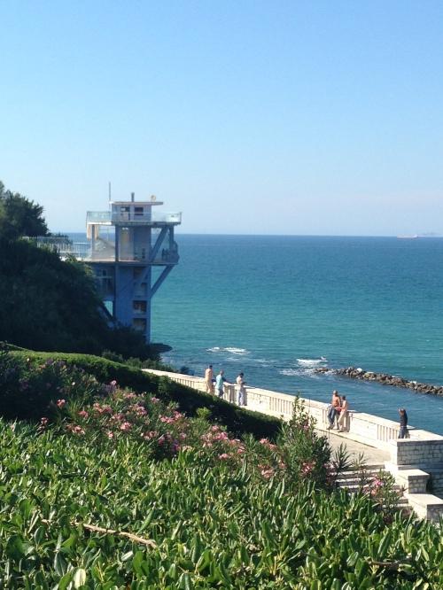 Ascensore sul mare al Passetto, Ancona
